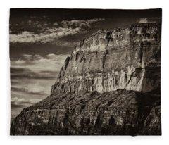 Big Bend Cliffs Fleece Blanket