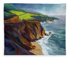 Big Sur 1 Fleece Blanket