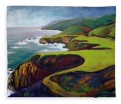 Big Sur 2 Fleece Blanket
