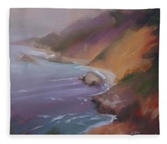 Big Sur Fleece Blanket