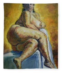 Big Woman Fleece Blanket