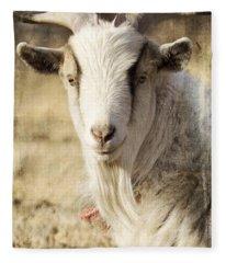 Billy Goat Fleece Blanket