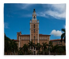 Biltmore Hotel Coral Gables Fleece Blanket