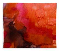 Biology Of Exhilaration Fleece Blanket