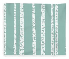 Birches Di Fleece Blanket