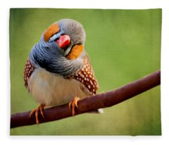 Bird Art - Change Your Opinions Fleece Blanket