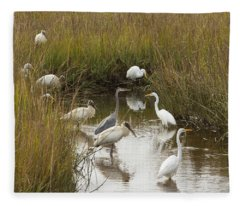Bird Brunch Fleece Blanket