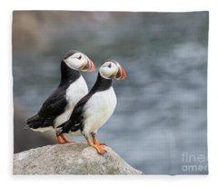 Bird Paradise Fleece Blanket