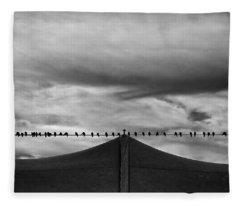Birds Fleece Blanket