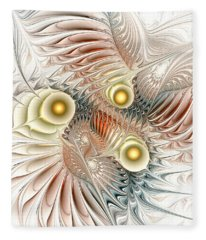 Birds Of Paradise Fleece Blanket