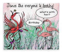 Birthday Dance Fleece Blanket