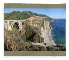 Bixby Bridge Fleece Blanket