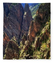 Black Canyon Of The Gunnison National Park I Fleece Blanket