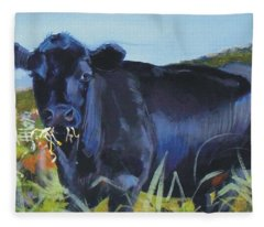 Cows Dartmoor Fleece Blanket