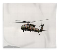 Black Hawk  Fleece Blanket