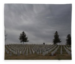 Black Hills Cemetery Fleece Blanket