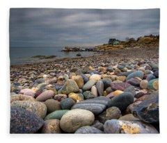 Black Rock Beach Fleece Blanket