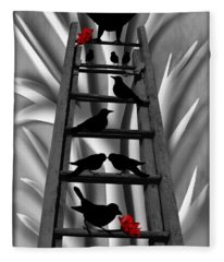 Blackbird Ladder Fleece Blanket