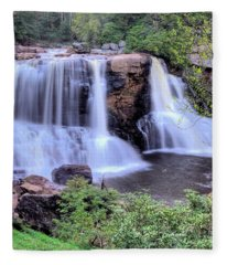 Blackwater Falls Fleece Blanket