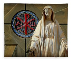 Blessed Virgin Mary -- Nazareth Fleece Blanket