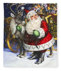 Blitzen Fleece Blanket