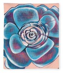 Bloom I Fleece Blanket