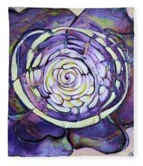 Tulip Bloom Fleece Blankets