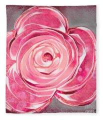 Bloom V Fleece Blanket