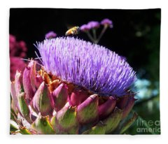 Blooming 'choke Fleece Blanket