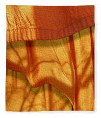 Blowing In The Wind Fleece Blanket
