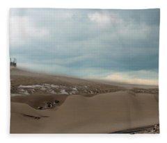 Blowing Sand Fleece Blanket