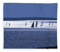 The Blue Armada Fleece Blanket