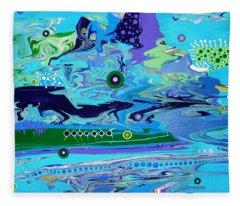 Blue Bayou Fleece Blanket