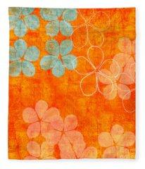 Petals Fleece Blankets