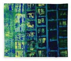Blue City 2 Fleece Blanket