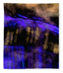 Blue Cliff Fleece Blanket