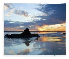 Corona Del Mar Fleece Blanket