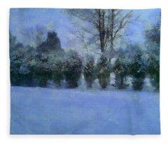 Blue Dawn Fleece Blanket