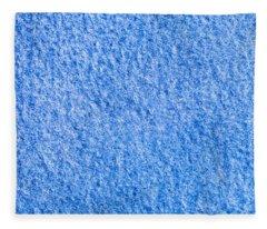 Blue Fleece Fleece Blanket