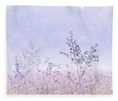 Blue Fog Fleece Blanket