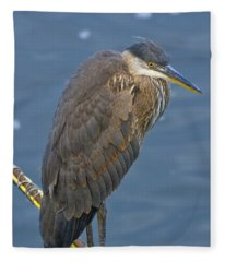 Blue Herron Fleece Blanket