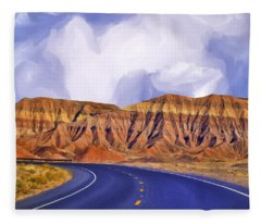 Blue Highway Fleece Blanket