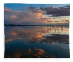 Blue Lagoon. Valencia Fleece Blanket