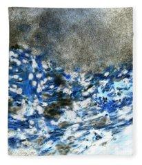 Blue Mold Fleece Blanket