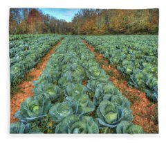 Blue Ridge Cabbage Patch Fleece Blanket