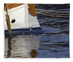Blue Rudder Fleece Blanket