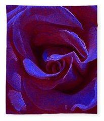 Blue Velvet Fleece Blanket