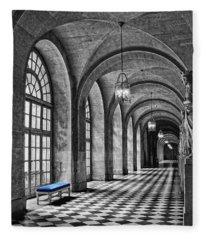 Blue Velvet Fleece Blanket