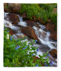 Bluebell Creek Fleece Blanket