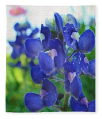 Bluebonnet Charmer Fleece Blanket
